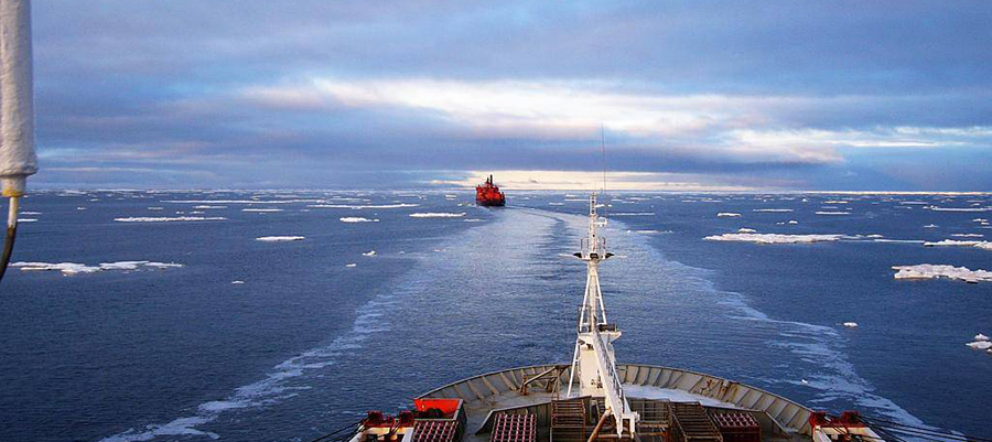 Минтранс ожидает резкого роста грузопотока по Северному морскому пути в 2024 г.