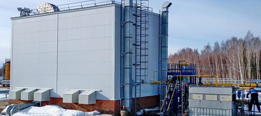 На нефтегазосборном пункте «Ожгинское» реконструируется ДКС попутного газа