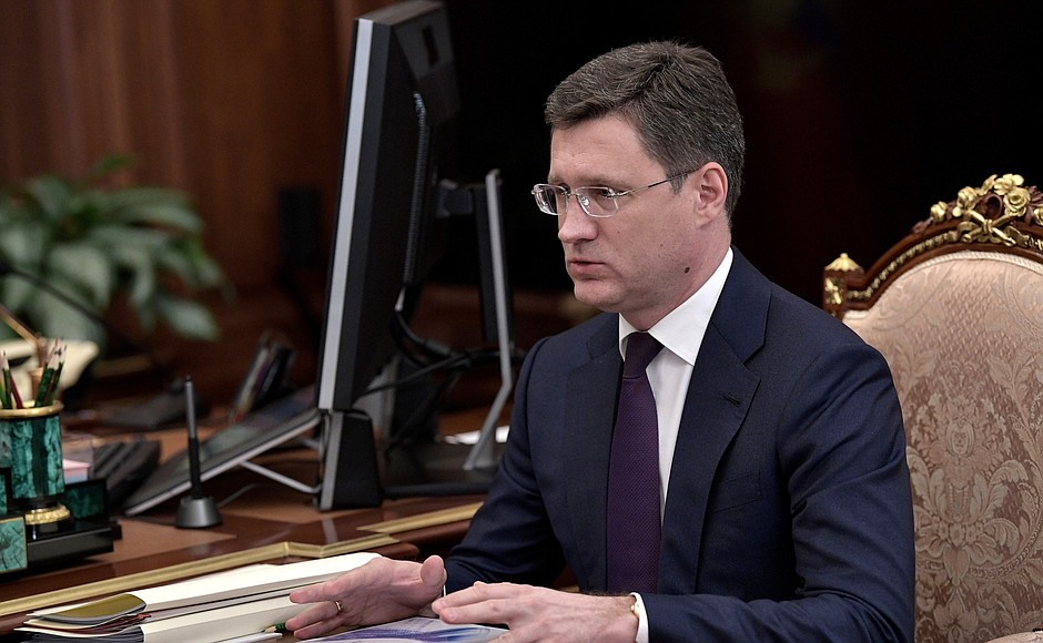 A.Novak to continue as acting Russian energy minister despite full government resignation