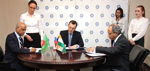 Russia, Bangladesh, India sign memorandum on cooperation in the implementation of the Rooppur NPP project