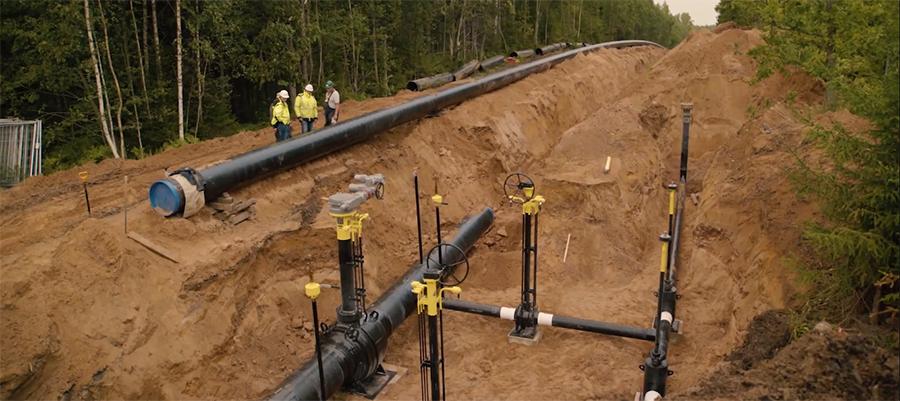 Прибалтийская независимость. Российские трубы использованы для строительства газопровода Balticconnector