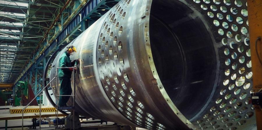 На Атоммаше изготовили корпус внутрикорпусной шахты атомного реактора для АЭС Руппур
