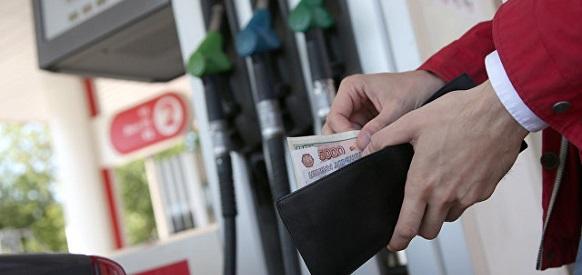Цены на бензин в России за прошедшую неделю выросли на 1 коп, дизель - на 25 коп
