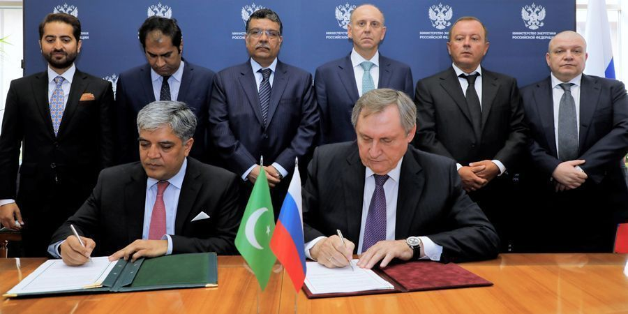Islamabad and Moscow signed an agreement to build the Pakistan Stream gas pipeline