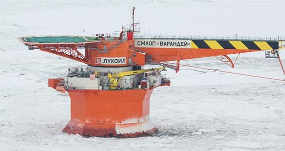Lukoil develops new technology for Arctic oil spill response