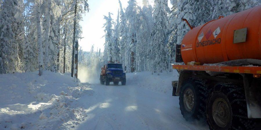Газпром недра подвели итоги зимнего завоза материалов и оборудования на удаленные месторождения