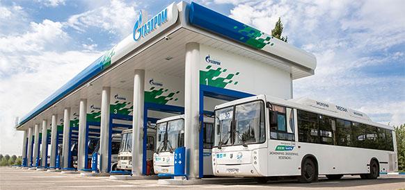 АГНКС Газпрома в г Вологда обеспечит заправку новых городских автобусов, работающих на газе