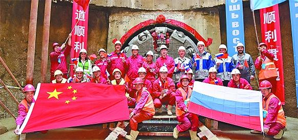 Российский газ приближается к Китаю. Завершена прокладка туннеля для газопровода Сила Сибири-1 под р Амур, есть подвижки и по Силе Сибири-2