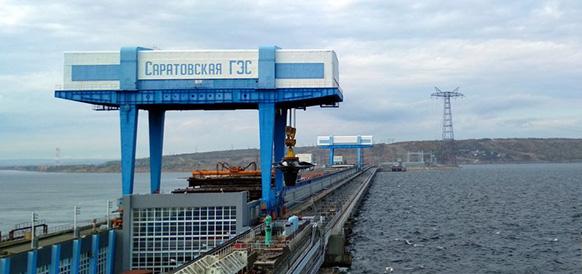 Гидроэнергетики Саратовской ГЭС заменили турбину гидроагрегата №9