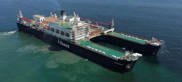 Pioneering Spirit на пути в порт Роттердам. После завершения 1-й нитки газопровода Турецкий поток? Голосовать!