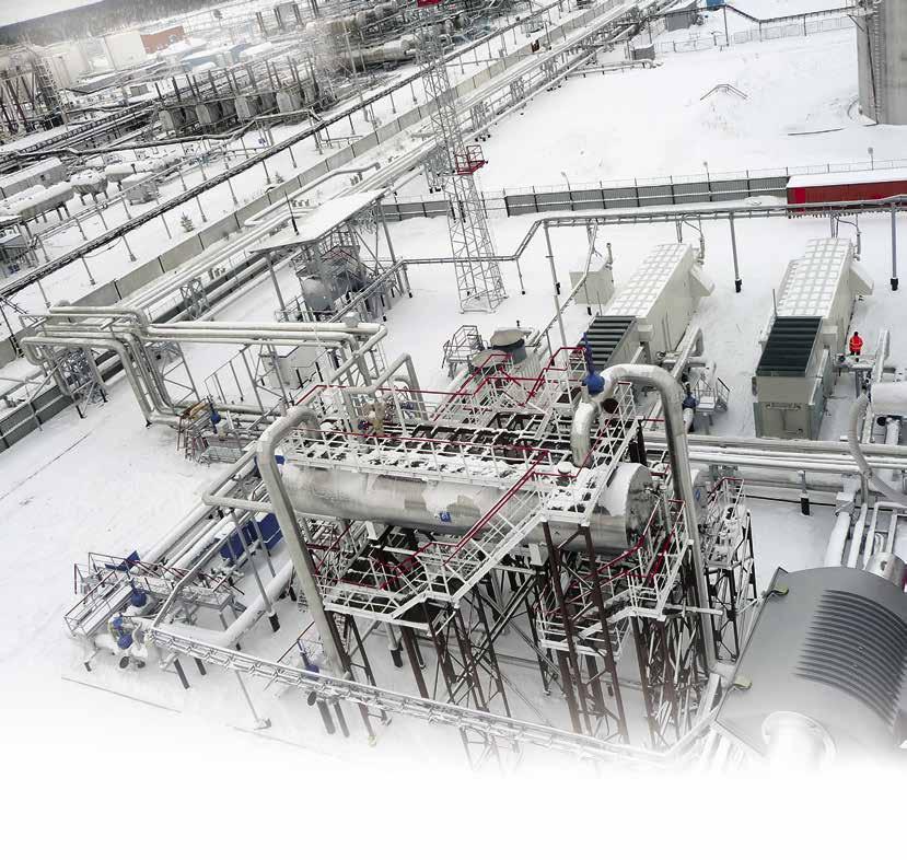 Утилизация ПНГ. Особенности эксплуатации компрессорных установок с винтовыми маслозаполненными компрессорами на низконапорном газе повышенной плотности