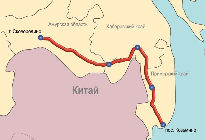 Транснефть и Роснефть смогли договориться о строительстве отвода от ВСТО до Комсомольского НПЗ