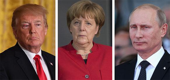 Давление США на Германию по Северному потоку-2, пошлины и торговое соглашение с США станут фоном для переговоров А. Меркель и В. Путина