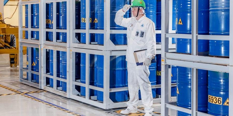 На Кольской АЭС переработали 3 тыс. т жидких радиоактивных отходов