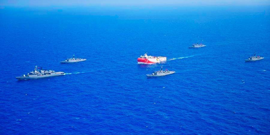 Обстановка в Восточном Средиземноморье накаляется: Турция проведет геологоразведку на спорном участке при поддержке военных кораблей