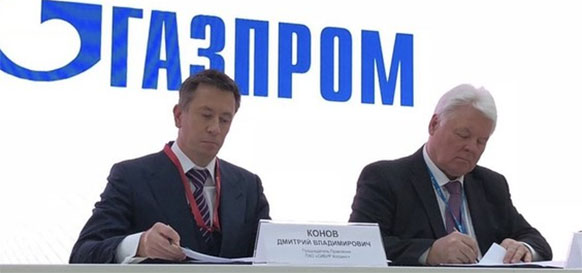 Gazprom and SIBUR sign a preliminary agreement to supply ethane to the Amur GCC
