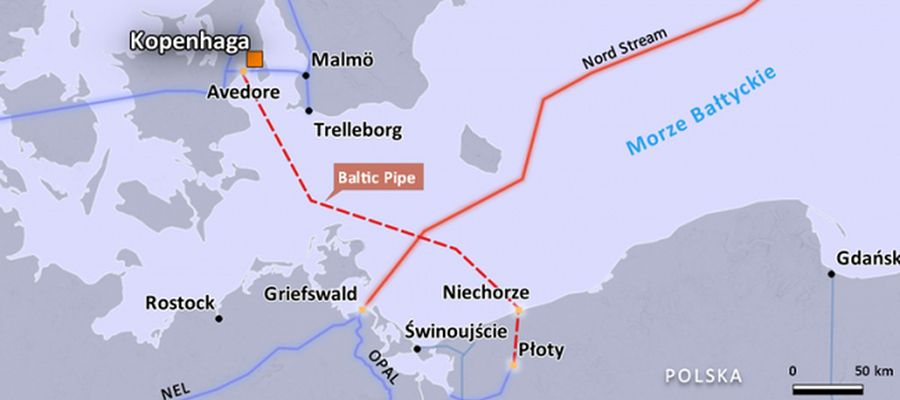 Baltic Pipe needs new environmental permit, process could take up to 8 months
