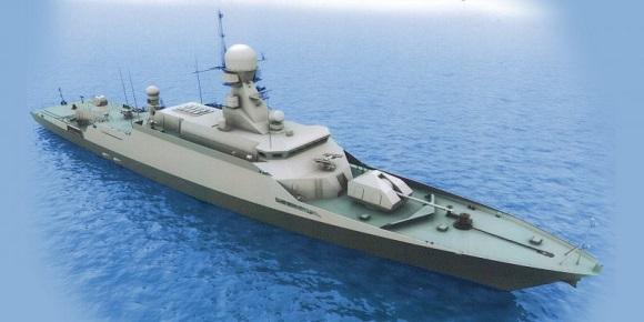 Новейший малый ракетный корбаль Вышний Волочек передадут ВМФ России до конца 2017 г после проведения государственных испытаний