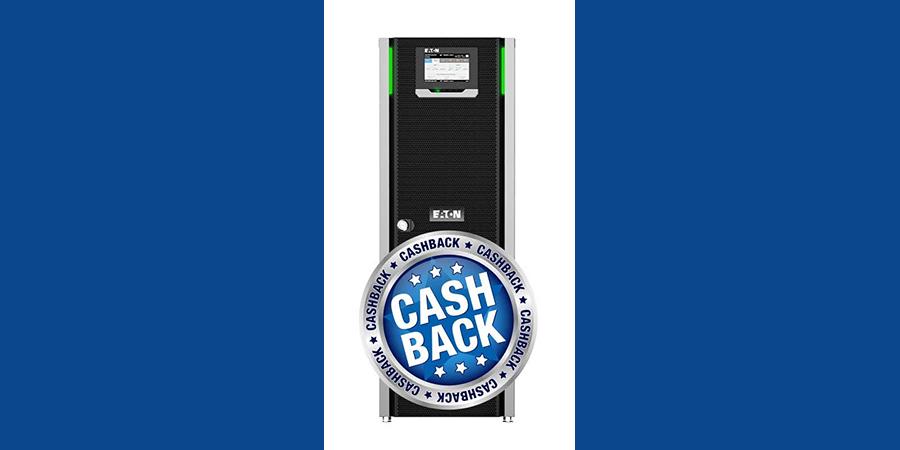 Покупайте ИБП Eaton 91PS 8-30кВА в Айсо-дистрибьюция и получайте кэшбэк!