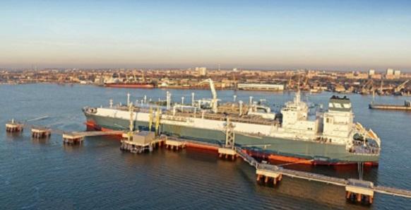 Глава Минэнерго Литвы Р. Масюлис: СПГ-терминал FRSU используется только на 20%