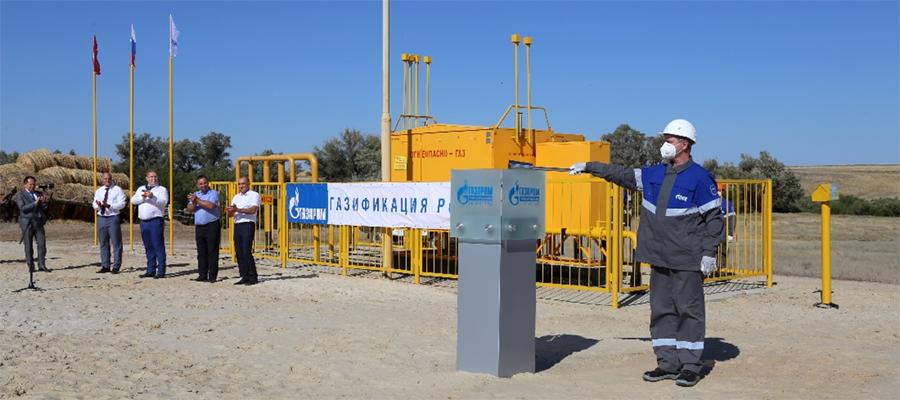 В Волгоградской области газифицированы с. Ивановка и Капкинка