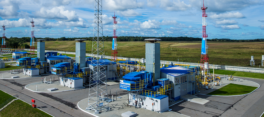 Required amount of gas totaling 72.3 billion m3 injected into Russian UGS facilities in preparations for winter