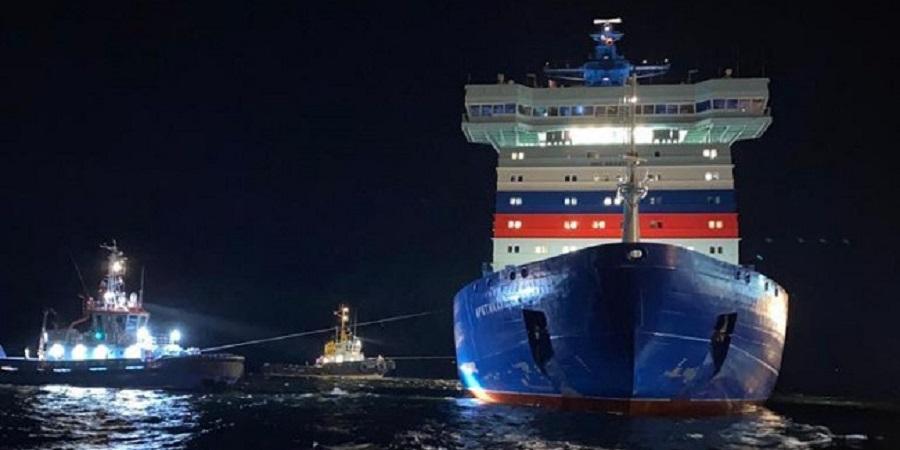 Атомный ледокол Арктика вышел в 1-й рабочий рейс