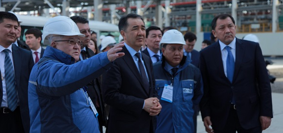 Kazakh PM visits Atyrau refinery: modernization to be completed in May 2018