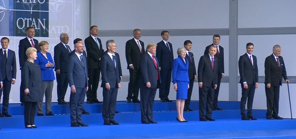 Д. Трамп в г Брюссель покритиковал Северный поток-2. Но понимания у союзников по НАТО не нашел