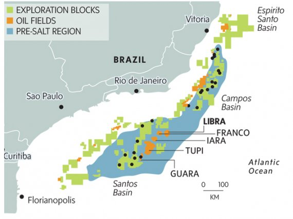 Total launches large-scale development of the Brazilian giant Libra field