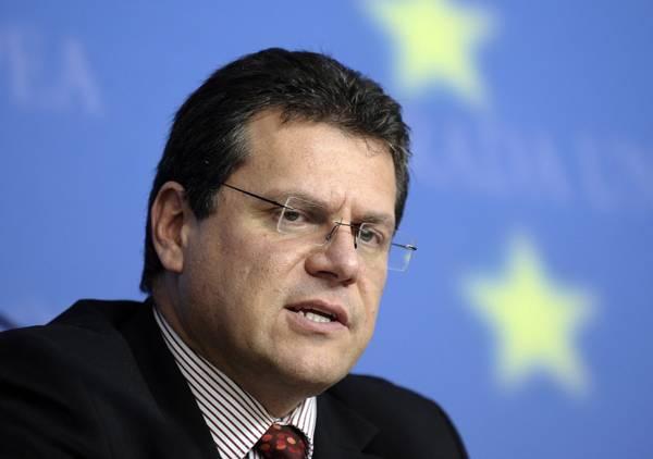 М.Шефчович. Страны Евросоюза хотят стать единым покупателем газа