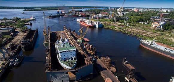 Судостроительный завод Красная Кузница получит 30 млрд руб. на реконструкцию и развитие