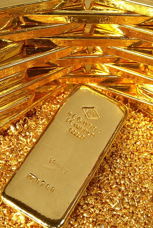 Gold steady
