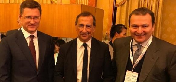 А. Новак в Италии провел рабочую встречу с главой Snam М. Алверой Голосовать!