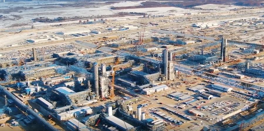 Прогресс проекта строительства Амурского ГПЗ в ноябре 2019 г. составил 51%