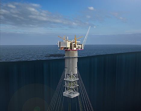 Aasta Hansteen moving boundaries
