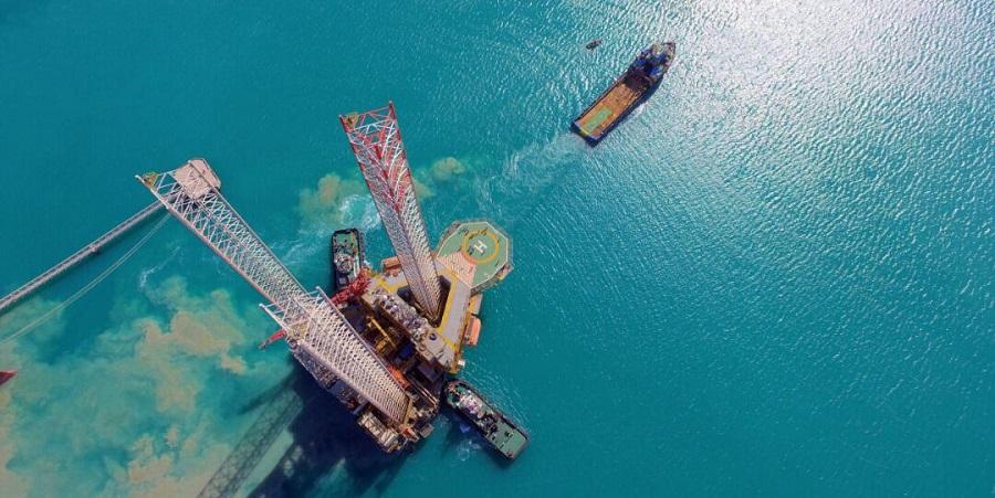Иран приступил к транспортировке морской буровой установки на 11-ю фазу Южного Парса