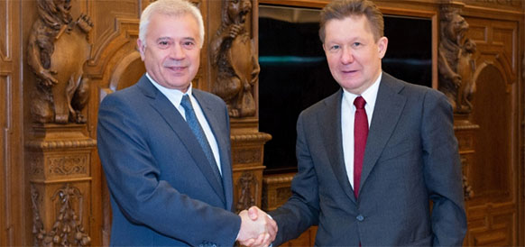 Gazprom and LUKOIL review prospects of strategic partnership