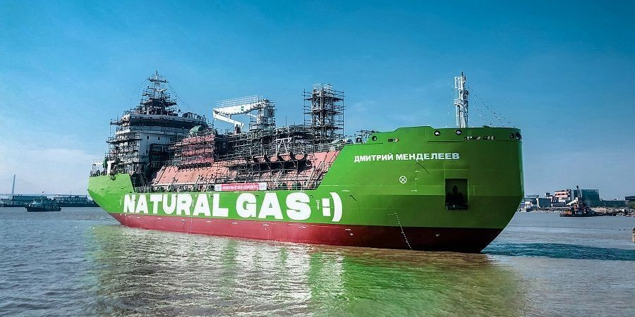 Gazprom delivered the 1st carbon-neutral LNG to Europe