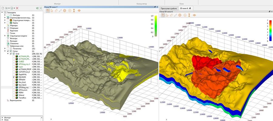 Роснефть начала промышленное внедрение программного комплекса РН-ГЕОСИМ для геологического 3D-моделирования