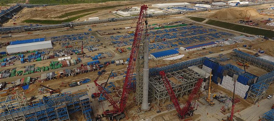 Печаль. Турецкие рабочие устроили массовую драку на Амурском ГПЗ Газпрома (ВИДЕО)