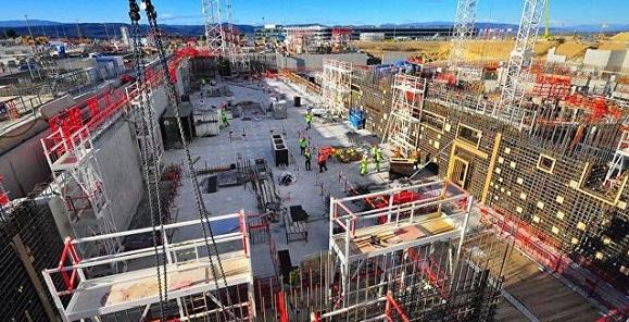 Росатом осмотрел строительную площадку термоядерного экспериментального реактора ИТЭР во Франции