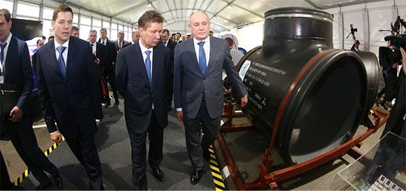 Все для Газпрома. Российские предприятия осваивают выпуск высокотехнологичной продукции для проектов Газпрома