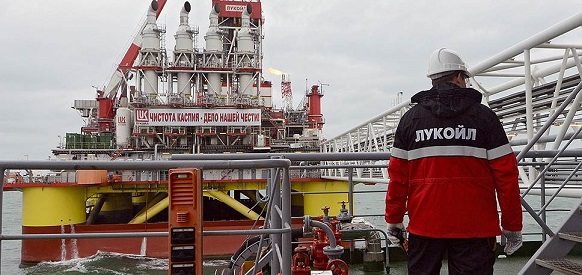 20 million tonnes of oil produced at Lukoil North Caspian fields