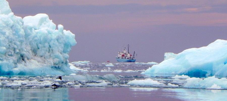 Рекордный выброс метана зафиксирован в Арктике российскими учеными
