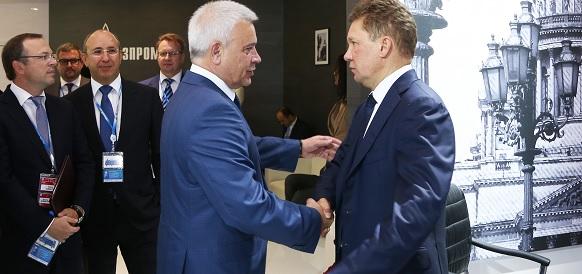 ПМЭФ-2018. Газпром и ЛУКОЙЛ намерены совместно осваивать 2 месторождения в Ненецком автономном округе