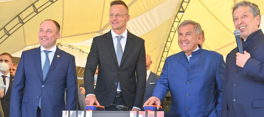 Татнефть и MOL начали строительство установки по производству резиномодифицированного битума на ТАНЕКО
