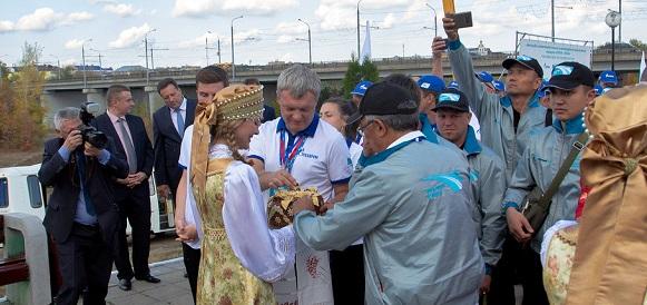Стартовал российский этап международного автопробега «Газ в моторы»