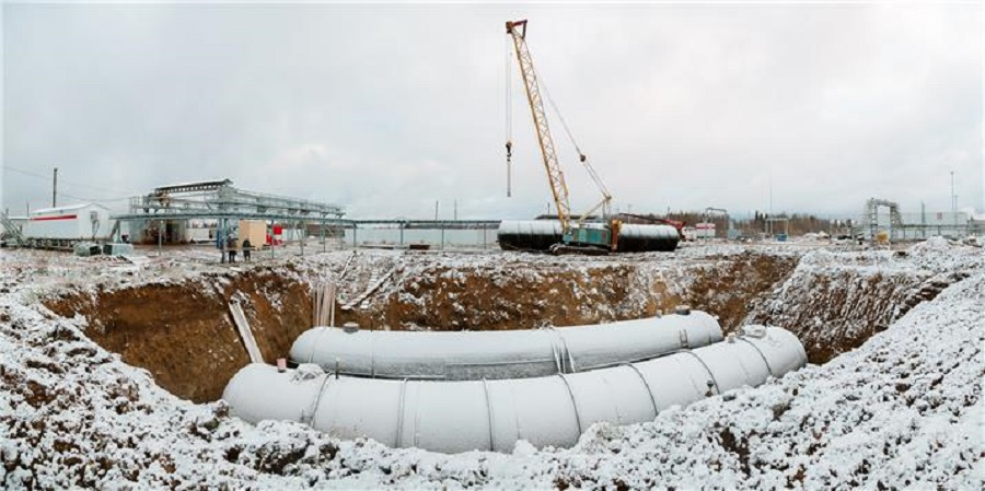 ЛУКОЙЛ на 65% завершил реконструкцию установки промысловой подготовки нефти Каменный Лог
