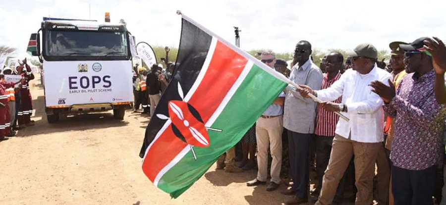 Kenya exports 1st oil to the international market